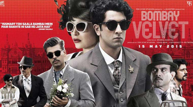 Bombay Velvet Box Office Collection Public Review 2015 Poster