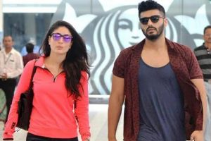Arjun Kapoor And Kareena Kapoor Poster R. Balki's Upcoming Movie As A Married Couple