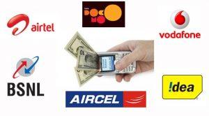 Transfer Balance From Airtel, Idea, Uninor, Tata Docomo, Aircel, BSNL, Vodafone