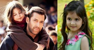Bajrangi Bhaijaan Harshaali Malhotra Child Girl Actress Bio Mother Family Pictures With Salman 01