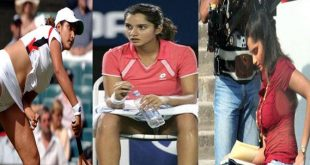 Oops: Sania Mirza Wardrobe Malfunction Picture Gallery Leaked Is Sania Ashamed
