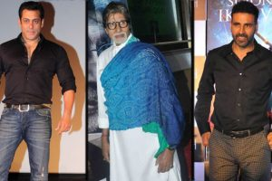 Salman, Amitabh, Akshay In Top 10 World Paid Actors Forbes List