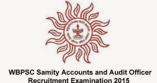 WBPSC Audit and Accounts Exam 2015 Syllabus Subject Pattern pdf File