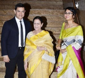 Aamir Khan wife mother pictures