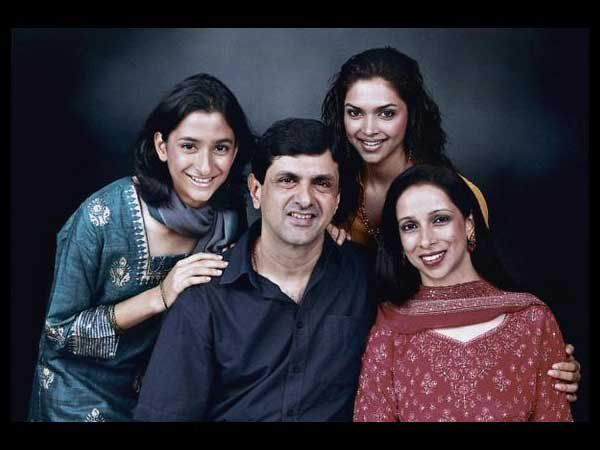 Deepika Padukone Family Mother, Father, Sister