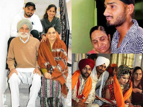 Harbhajan Singh Family...
