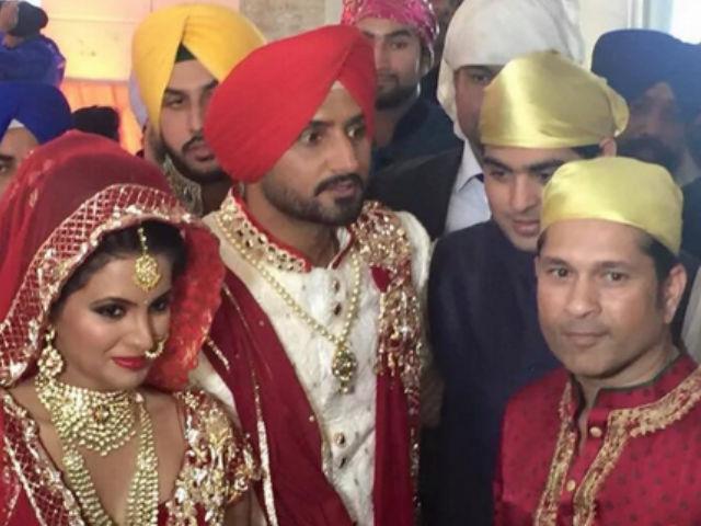Harbhajan Singh wedding pictures