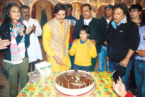 Jimmy Shergill son birthday pictures