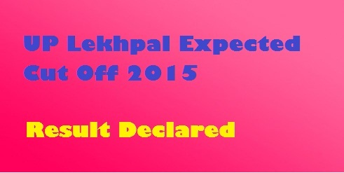 Lekhpal Exam Cut Off Marks Number Result 2015 Merit List bor.up.nic.in
