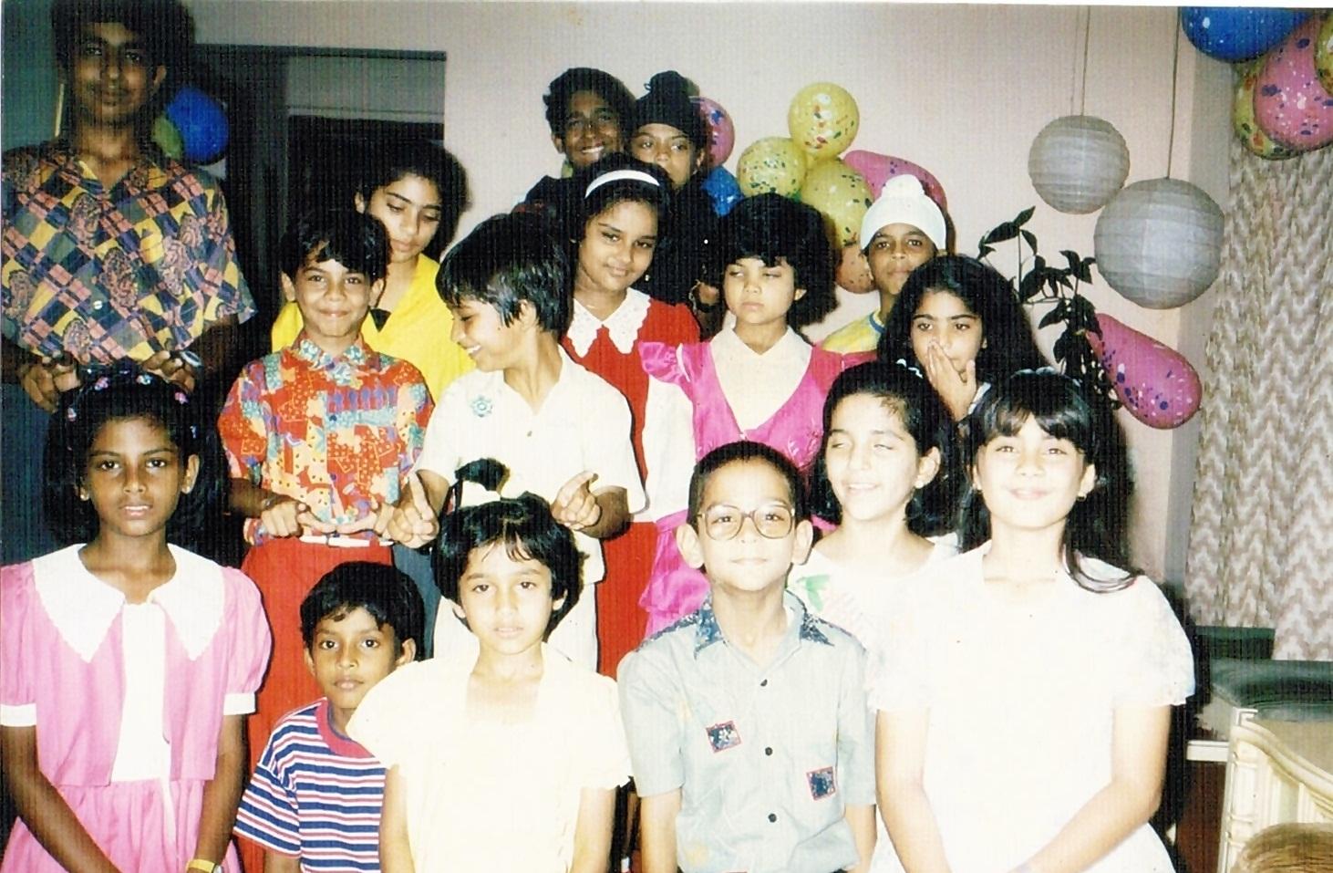 Minissha Lamba Family childhood pictures