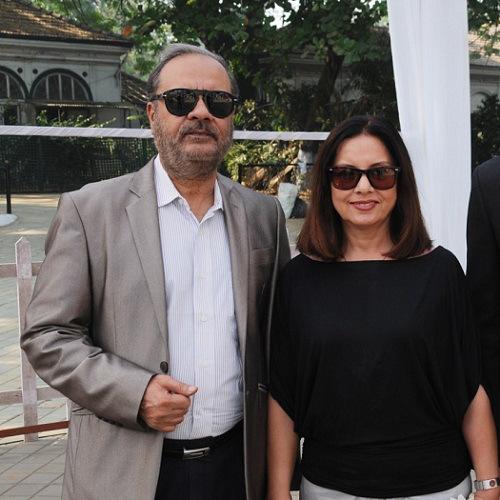 Minissha Lamba Mother and Father