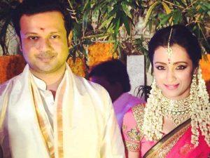 Trisha Krishnan engagement pictures