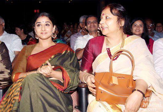 Vidya Balan Mother SarasWathy Balan