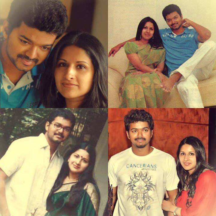 Actor Vijay Wife wedding pictures