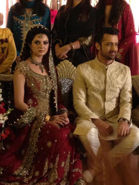Atif Aslam Wedding Pitures