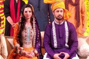 Atif Aslam Wife Pictures