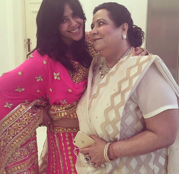 Ekta kapoor Mother Shobha Kapoor