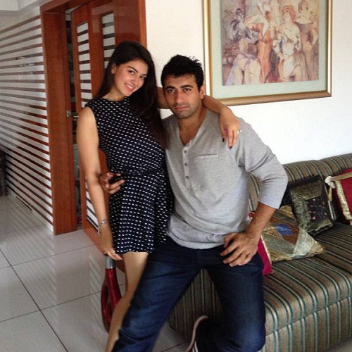 Hansika Motwani With Brother