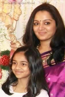 Manju Warrier Daughter