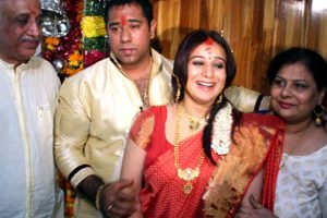Pooja Gandhi Mother Jyothi