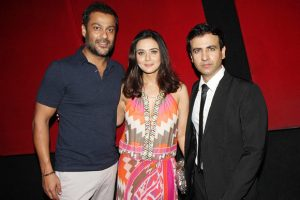 Preity Zinta With Brother