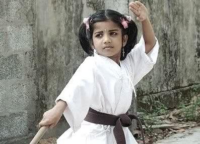 Samantha Ruth Prabhu childhood Pictures