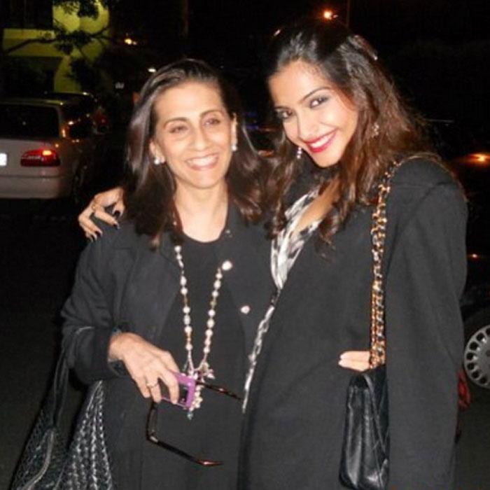 Sonam Kapoor mother