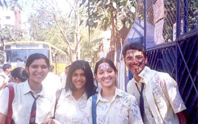 Tamanna Bhatia School life pictures
