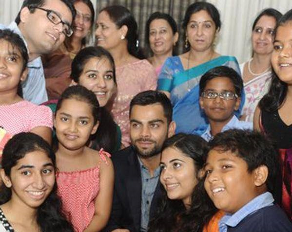 Virat Kohli Family Photo Brother,Sister,Father,Girlfriend