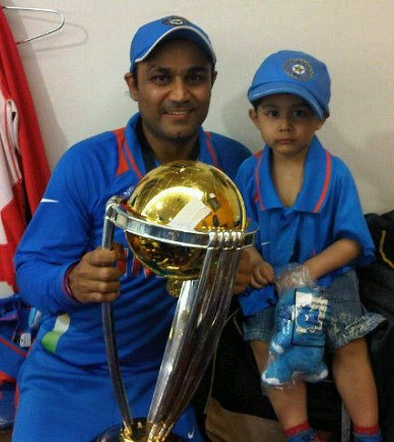 Virendra Sehwag son