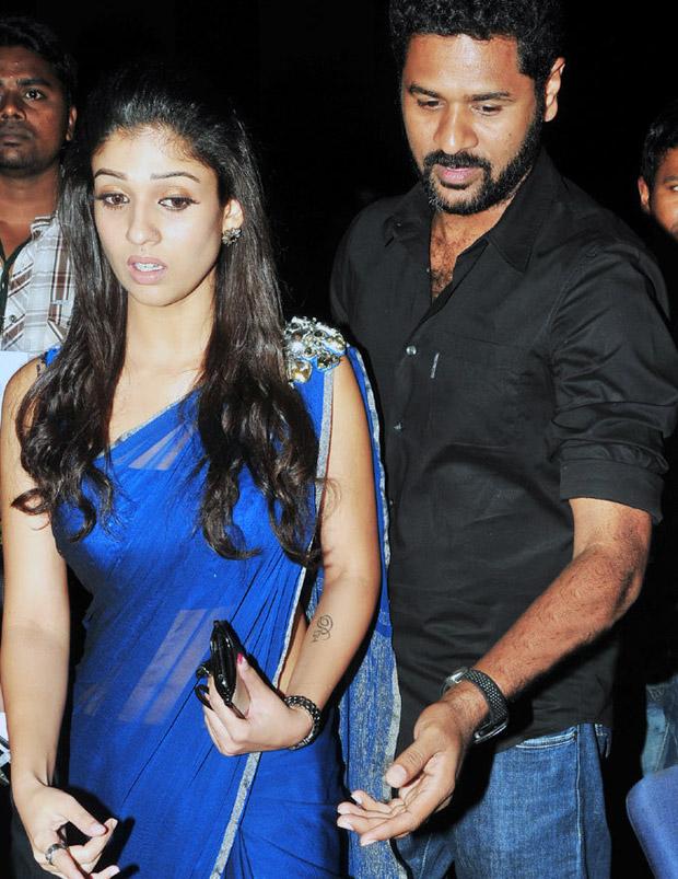 nayanthara with Former Partner prabhu deva