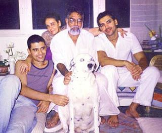John Abraham Family Pictures