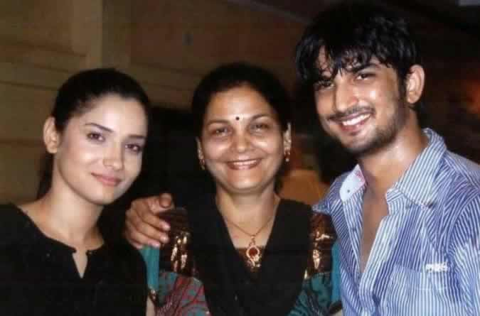 Sushant Singh Rajput Wife and Mother