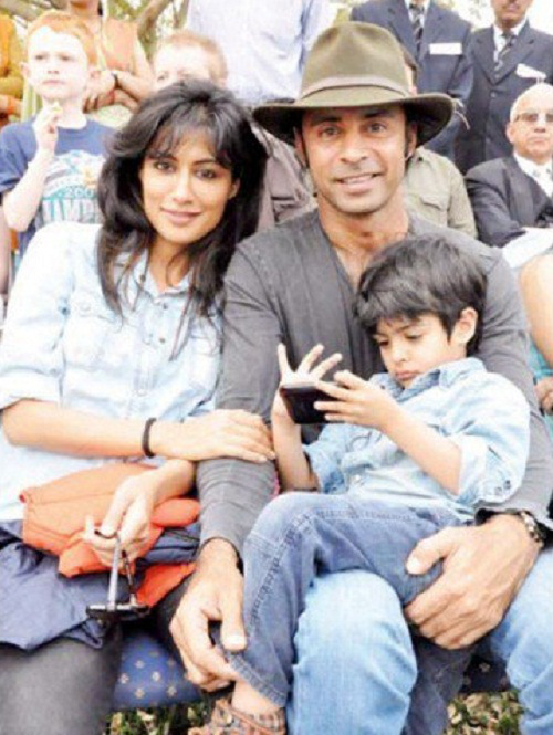 Chitrangada Singh children pictures