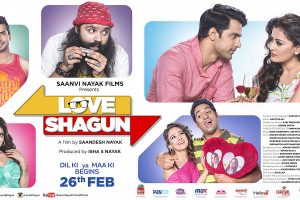 Love Shagun Nidhi Subbaiah Movies 2016 Release Date Songs Cast Poster