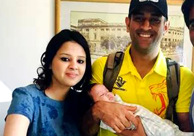 Mahendra Singh Dhoni Family Pictures, Wife, Daughter, DB