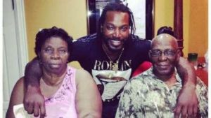 Chris Gayle Family Background Photos Father, Mother, Sister, Brother, Wife