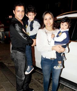 Ganesh Hegde Family Pics, Wife. Son, Sister, Father, Mother
