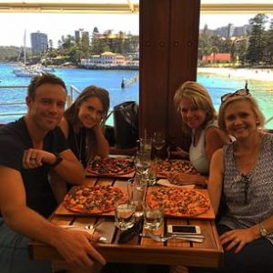 Ab De Villiers Family Pics Wife, Kids, Brother