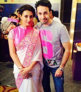 Aditi Gupta With Rizwan Bachav