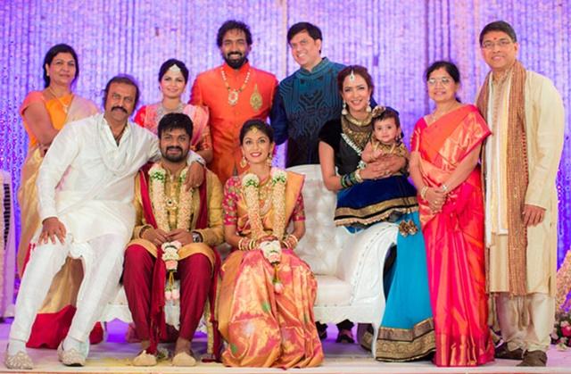 Manchu Lakshmi Marriage Photos