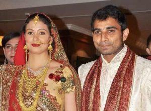 Mohammed Shami Family Wife