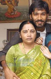 Dhanush family background, Mother Vijayalakshmi photo