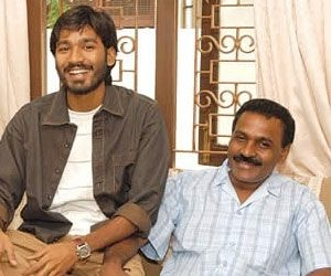 Dhanush family background, father Kasthuri Raja Photo