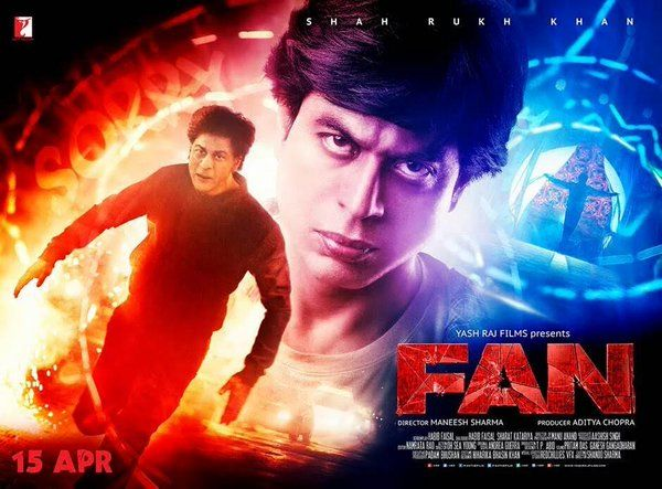 Shahrukh Khan FAN Movie 1st, 2nd, 3rd Day, First Week Collection 2016