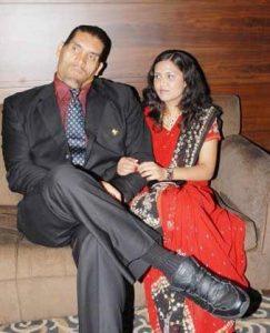 The Great Khali Family Photos, wife Harminder Kaur