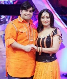 Kiku Sharda Family Photo, Wife Pryanka Shardha Photo