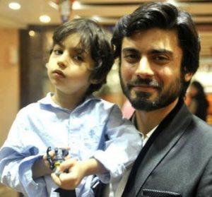 Fawad Khan Son Name, Family Pics