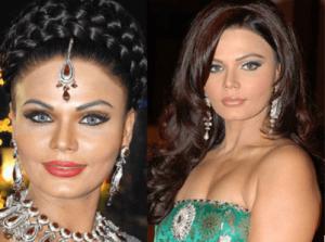 Rakhi Sawant Plastic Surgery Before And After Nose Job