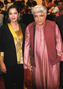 Shabana Azmi Husband Name Pictures